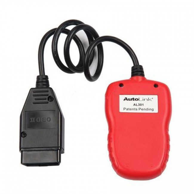 Autel AutoLink AL301 OBDII CAN DIY Code Reader Free Shipping From US