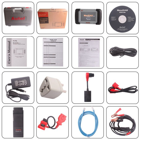 Autel MaxiDAS DS708 Automotive Diagnostic and Analysis Multi-Languages Scanner Shipping