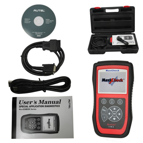 Autel MaxiCheck Oil Light/Service Reset Tool Update Online Shipping from China