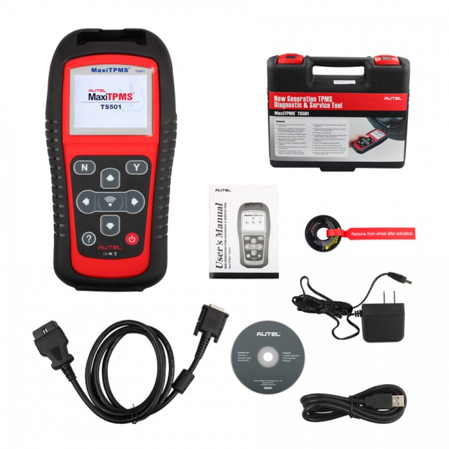 [New Year Sale]100% Original Autel MaxiTPMS TS501 TPMS Diagnostic and Service Tool Free Shipping Update Online Lifetime