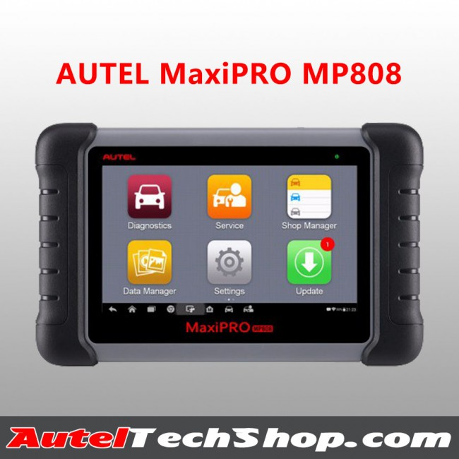 AUTEL MaxiPRO MP808 OBD2 Automotive Scanner Professional OE-level OBDII Diagnostics Tool Key Coding Same as  MaxiDAS DS808
