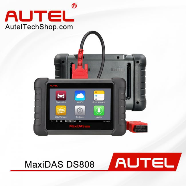 [Ship From US/UK]100% Original AUTEL MaxiDAS DS808 KIT Tablet Diagnostic Tool Full Set Support Online Update