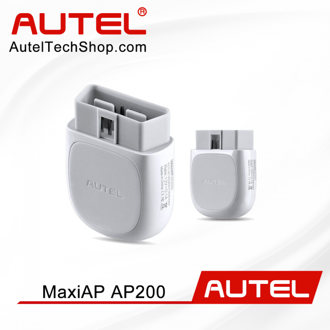 Autel Ap200 Bluetooth Obd2 Scanner Car Diagnostic Code Reader with All System Diagnoses & ServiceFunctions Simplified Edition of Mk808 [UK/ US Ship]