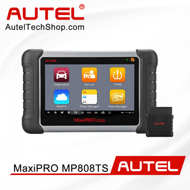 [New Year Sale]100% Original Autel MaxiPRO MP808TS Diagnostic Tool Support Oil Reset/ DPF/ TPMS/ ABS/ SRS/ EPB (Prime Version of DS808TS)