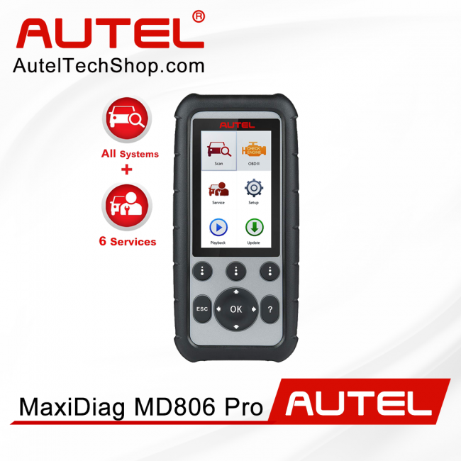 [Ship From US/UK]100% Original Autel MaxiDiag MD806 Pro Full System Diagnostic Tool As Same As Autel MD808 Pro