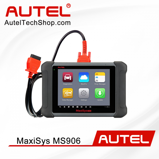 [US/UK Ship]Autel Scanner Maxisys MS906 Automotive Diagnostic Scan Tool (Advanced Version of MaxiDAS DS708 DS808)