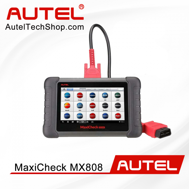 100% Original Autel MaxiCheck MX808 All System Diagnostic & Service Tablet Scan Tool Support IMMO TPMS Update Online (Advanced MD808 Pro Same MK808)