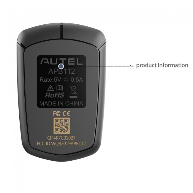 2020 AUTEL APB112 Smart Key Simulator Work with Autel MaxiIM IM608/ IM508
