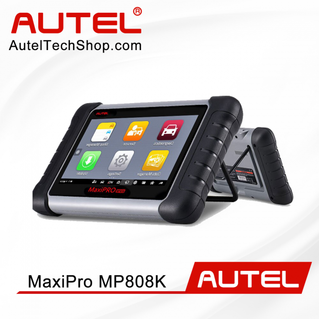 [Ship From US/UK]Autel MaxiPro MP808K with OE-Level All Systems Diagnosis Support Bi-Directional Control with Complete OBDI Adapters
