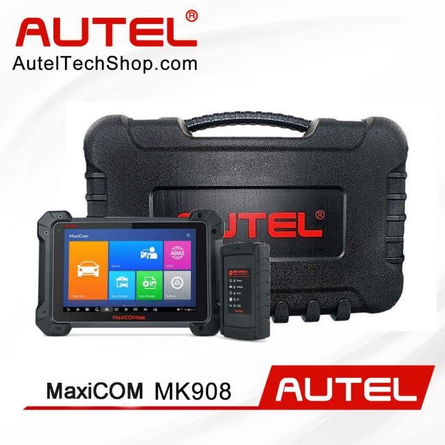 [Ship From US/UK]Original Autel MaxiCOM MK908 Automotive Full System Diagnostic Tool Support Support Bi-Directional Control & ECU Coding