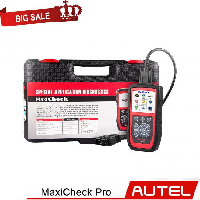 [New Year Sale]Autel MaxiCheck Pro OBD2 Diagnostic Scanner (including EPB/ABS/SRS/SAS/BMS/DPF) US Free Shipping Update Online Free Lifetime