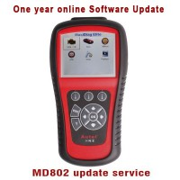 Update Service for Autel MD802 4 Systems/Full Systems One Year Software Online