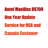 Autel MaxiDas DS708 One Year Update Service for USA and Canada Customer