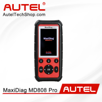 Autel MaxiDiag MD808 Pro All System Scanner Support BMS/Oil Reset/ SRS/ EPB/ DPF/ SAS/ ABS Advanced MaxiCheck Pro and MD802