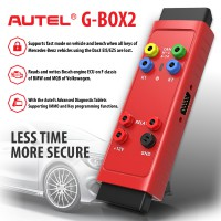 [BLACK FRIDAY SALE]100% Original Autel G-BOX2 Tool for Mercedes Benz All Key Lost Work with Autel MaxiIM IM608/IM508