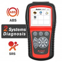Autel Autolink AL619 ABS/SRS Car Diagnostic OBD2 Code Reader/Scanners (same as ML619)  Free Shipping Lifetime Free Update Online