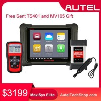 Buy Autel MaxiSys Elite with J2534 ECU Preprogramming Box Free Sent TS401 and MV105 Gift [Upgraded Version of MS908P MK908P]