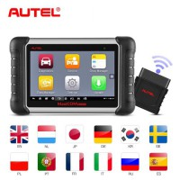 [New Year Sale]Original Autel MaxiCOM MK808BT All System Diagnostic Tool with MaxiVCI Support ABS/ SRS/ EPB/ DPF/ SAS Upgraded Version of MK808