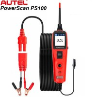 [New Year Sale]Autel PowerScan PS100 Electrical System Diagnosis Tool PowerScan PS100 Auto Circuit Battery Tester Easy to Read AVOmeter