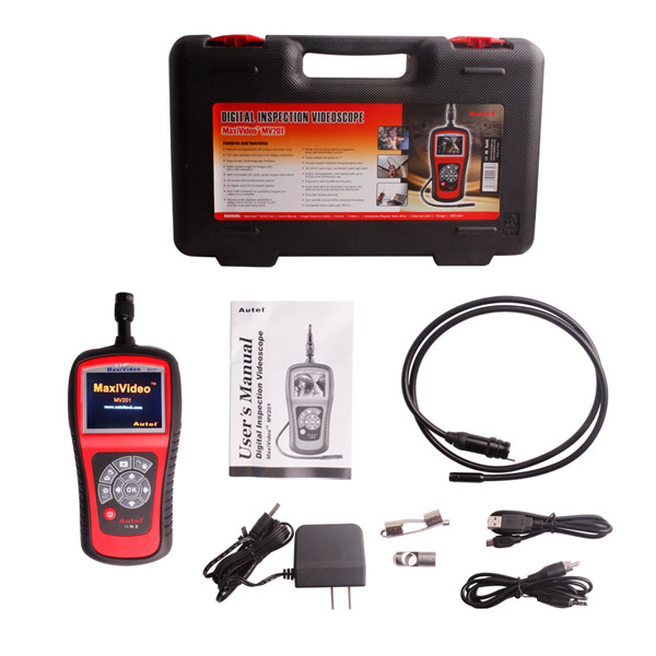 Autel MaxiVideo MV201 5.5mm Digital Inspection Videoscope