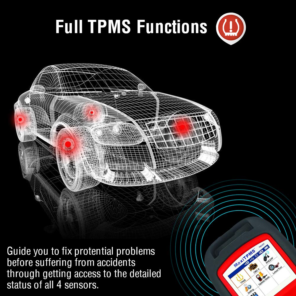 Autel MaxiTPMS TS601 TPMS Diagnostic and Service Tool [Shipping From US No  Tax]