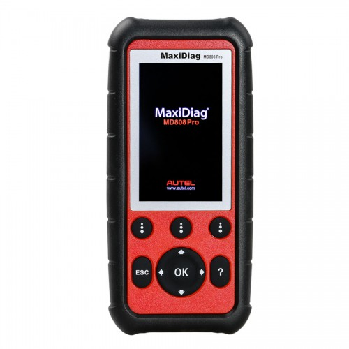 Autel MaxiDiag MD808 Pro Diagnostic Tool OBD OBD2 Scanner Automotive Code Reader PK MD806/MD808/MD802 All System Diagnostics Lifetime Free Update