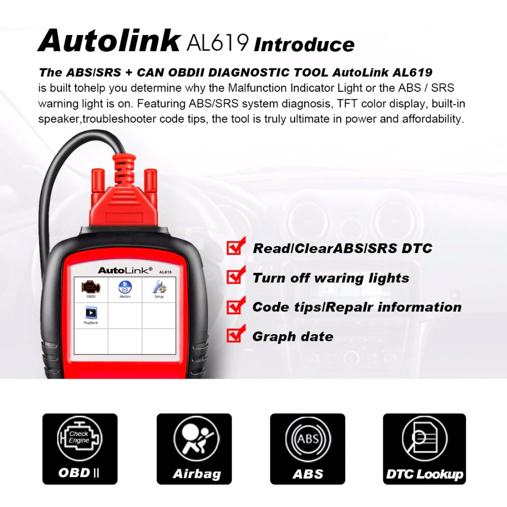 Autel AutoLink AL619 introduction