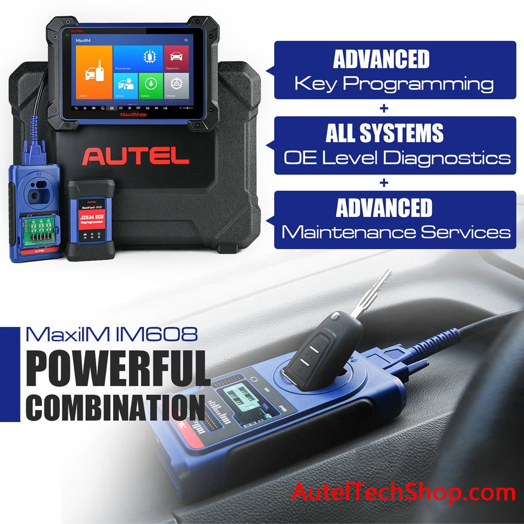 Autel MaxiIM IM608 Features